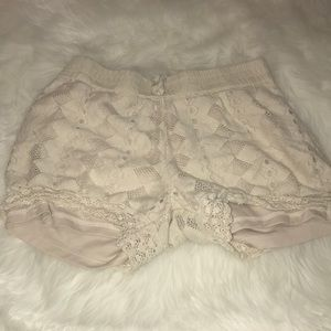 Faded Glory lace shorts